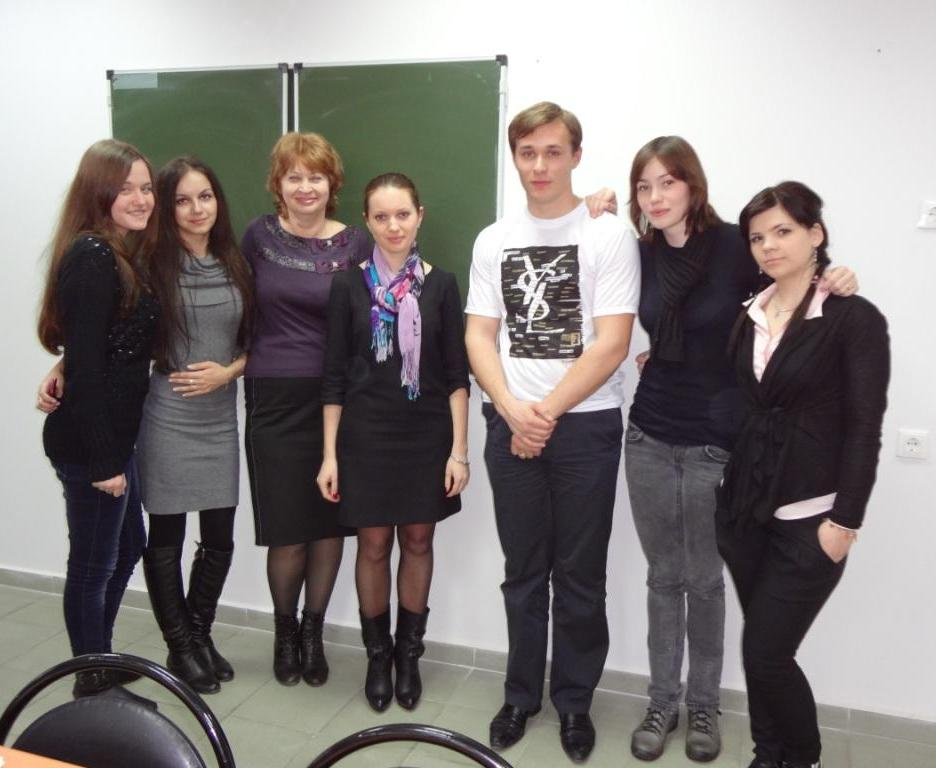 Ionov and students